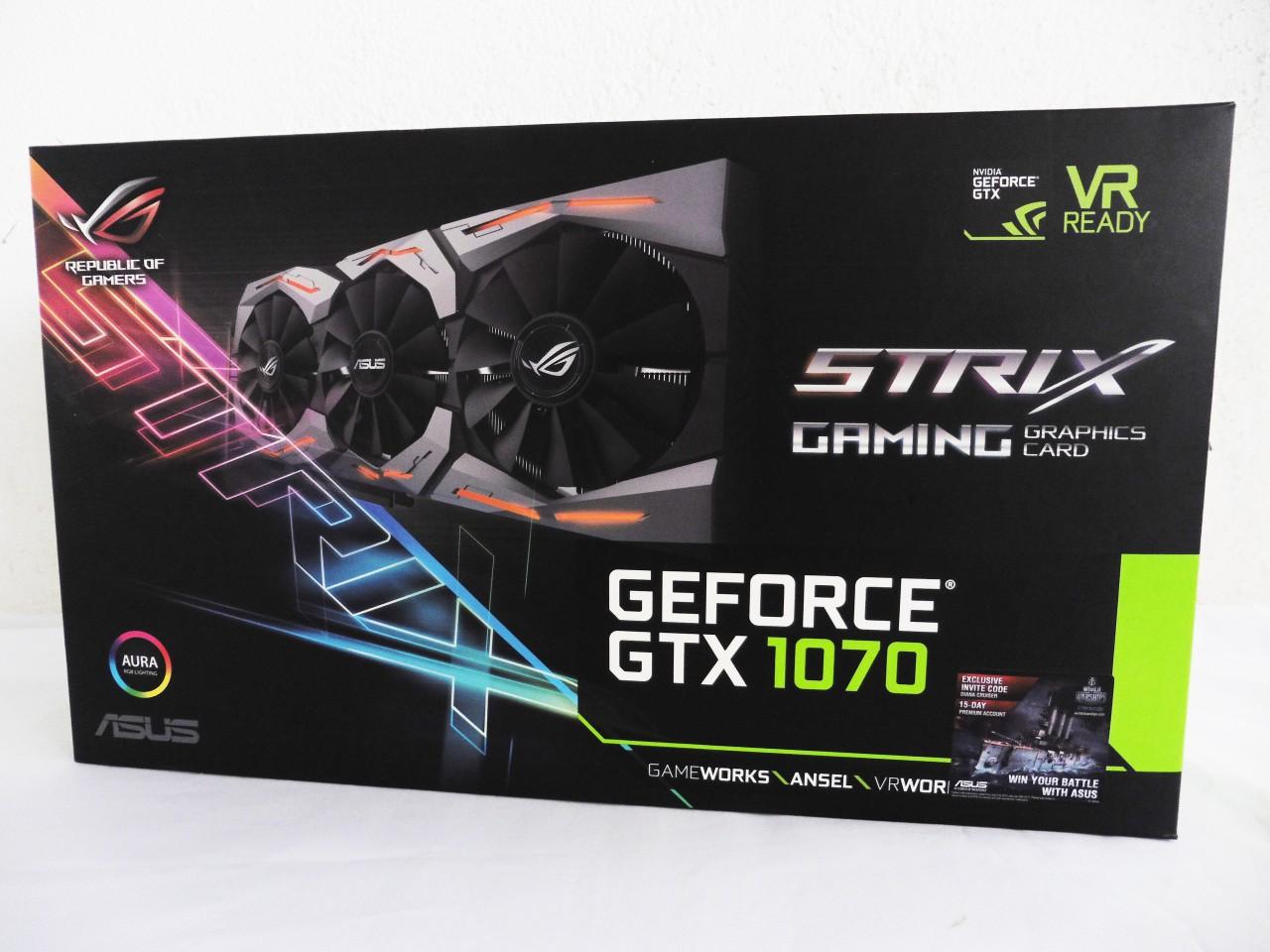ASUS ROG Strix GeForce GTX 1070 Review 31