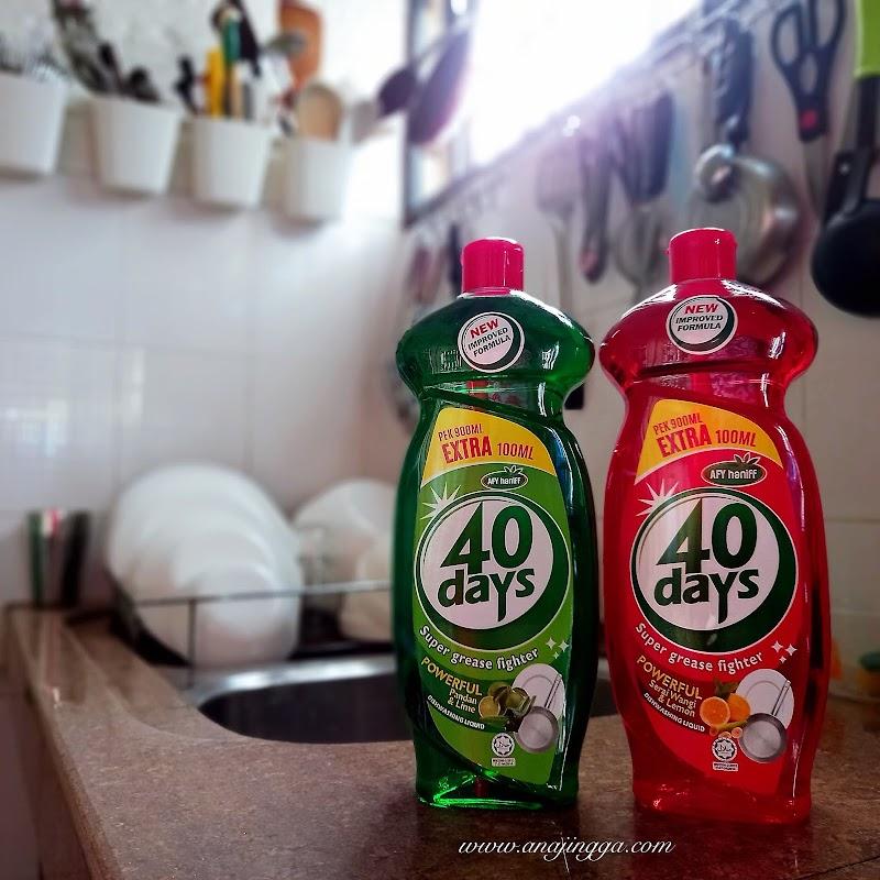 Apakah kelainan pada sabun pinggan 40 DAYS Afy Haniff ?