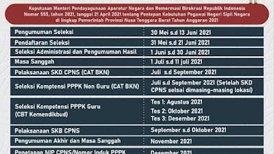 Ada 4.865 Formasi CPNS Untuk NTB, Lihat Rinciannya