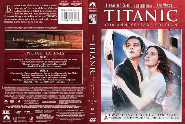 Titanic 10th Anniversary Edition DVD Cover