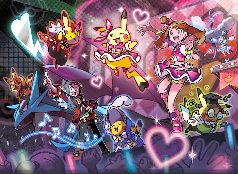 Contest Pokemon - Pokemon Contest Spetacular