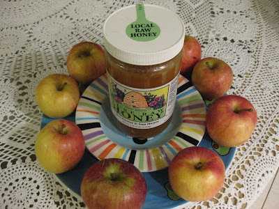 Apples and honey for Rosh Hashana