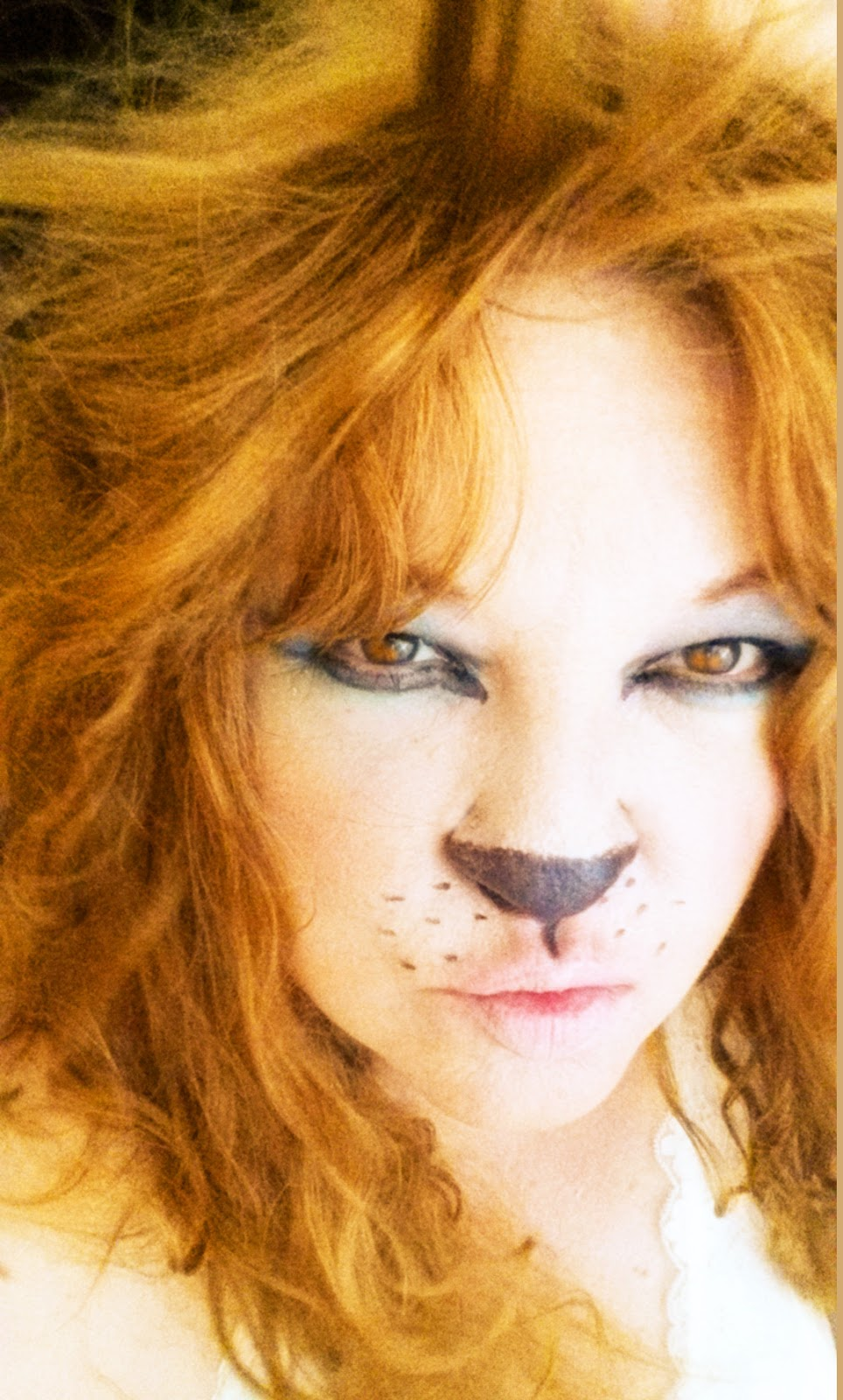 Ghost Hunting Theories Blog Entry Saturday Halloween Selfies Lilian Ashley Body Musk Lion Makeup Was Simple With An Eyeliner Pencil Some Foundation Put It On My Lips Too And Eyeshadow I Hinted At Without Being Cartoonish
