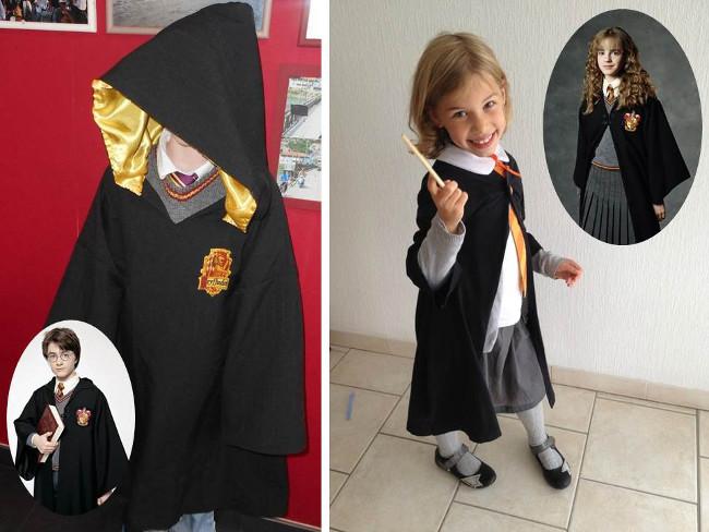 Diy les meilleurs idees pour halloween bettinaelssionuture cape harry potter et le costume d hermione patron du dguisement dharry taille 1012 ans avec le tutoriel mom ma fee chez magazaly vous trouverez solutioingenieria Gallery