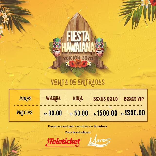 Fiesta Hawaiana 2020 entradas
