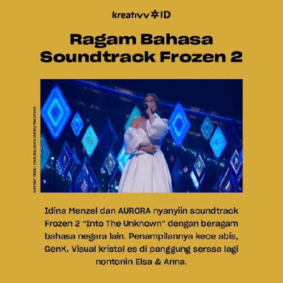 Ragam Bahasa Soundtrack Frozen 2