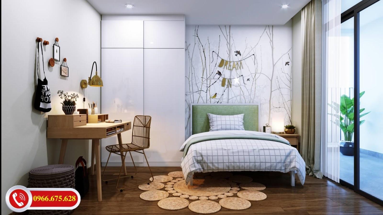 Phòng ngủ thường của dự án Amber 622 Minh Khai