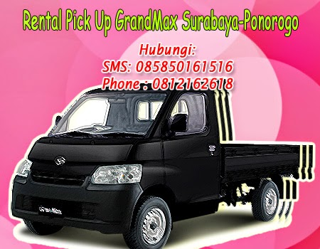 Rental Pick Up GranMax Surabaya-Ponorogo