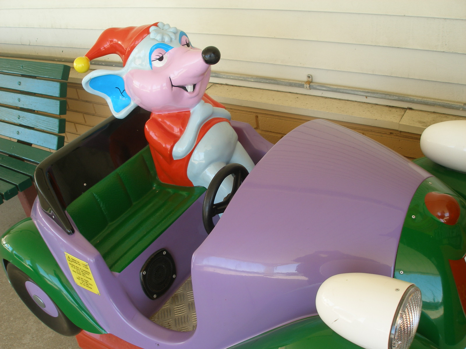 Jsh S Visual Slushpile Children S Coin Operated Rides Of