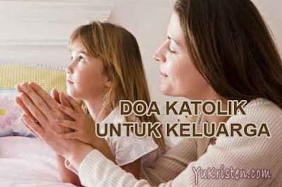 doa katolik untuk keluarga