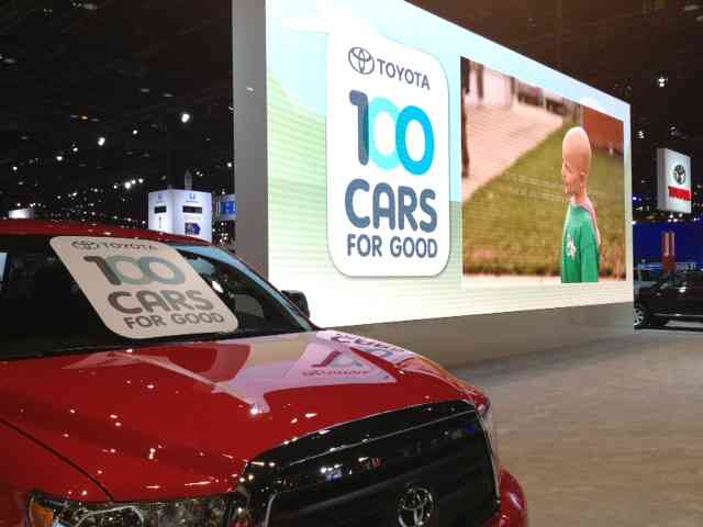 Good Do You Know A Nonprofit That Could Benefit From A New Car? Applications For Toyotau0027s  100 Cars For Good Program Are Now Being Accepted.