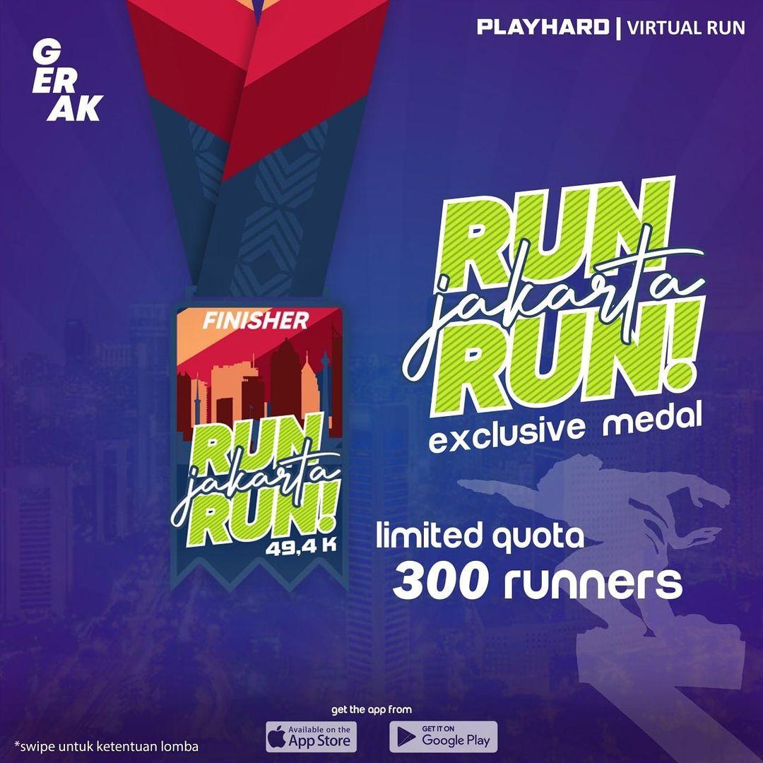 Medali � Run Jakarta Run • 2021