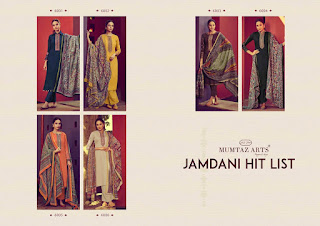 Mumtaz Arts Jamdani hit List Jam Satin Salwar Kameez Collection Wholesale Rate