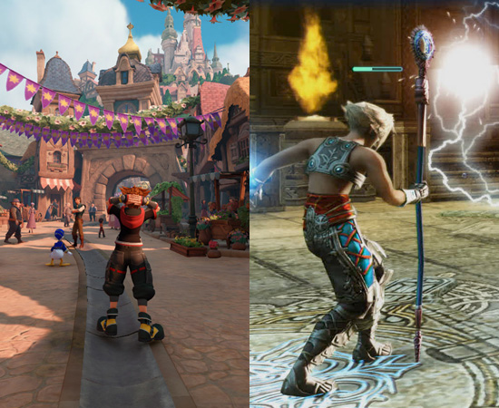 Kingdom Hearts 3 e Final Fantasy XII: The Zodiac Age