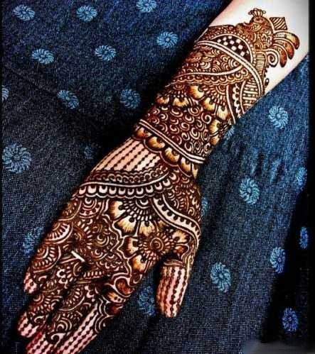 Tren Gaya Remaja Terbaru Trend Henna Tatto Pernikahan Ala India