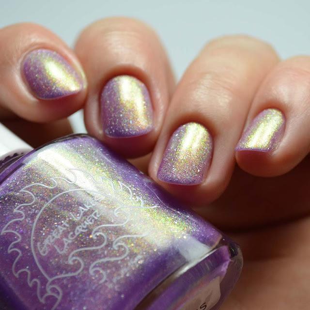 orchid shimmer nail polish