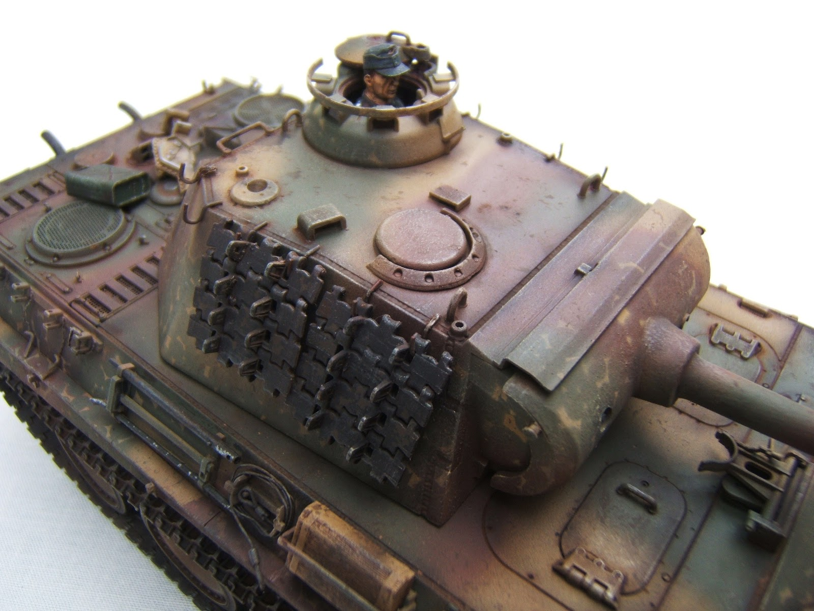 Dave's Tank Workshop : Panther G - Disc Pattern Camouflage