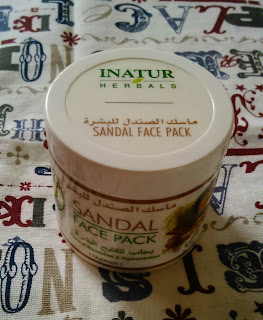 Inatur Herbals Sandal Facepack Review