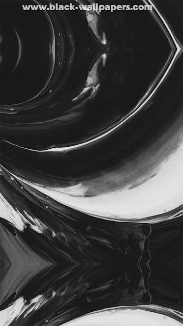 black wallpaper iphone x