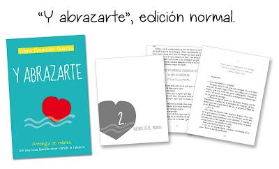 """""""Y abrazarte"""", edición normal - Antología - Clara Asunción García"""