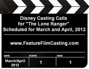 Disney Casting Calls The Lone Ranger