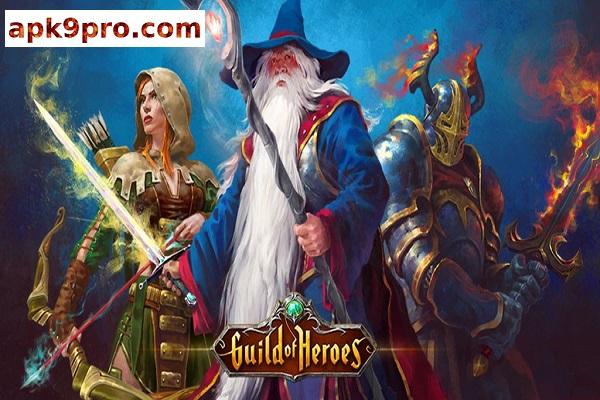 Guild of Heroes – fantasy RPG v1.94.2 Apk + Mod (File size 150 MB) for android