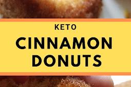 Keto Cinnamon Donuts