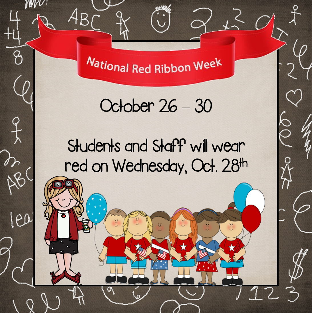 Ms Clement S Blog Red Ribbon Week