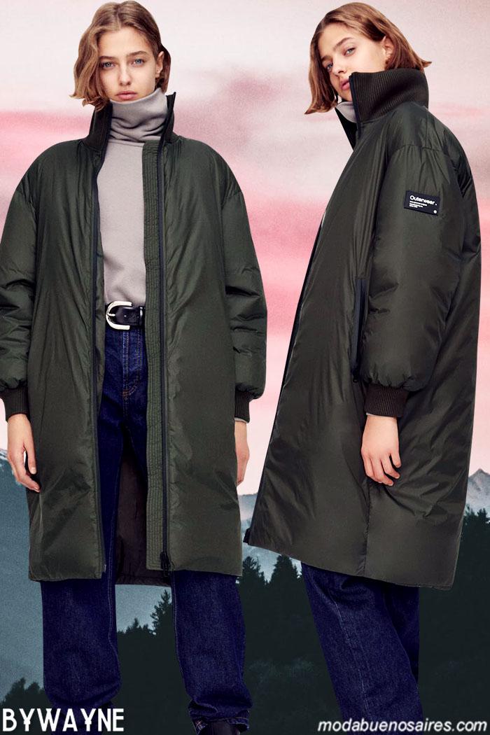 Campera urbana mujer Zara otoño invierno 2021