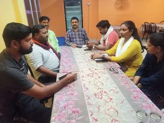 धर्मांतरण व रामनवमी को लेकर हिंदू जागरण मंच की हुई बैठक   #NayaSaberaNetwork