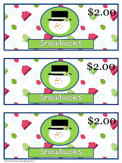 https://www.teacherspayteachers.com/Product/Free-Snowman-Classroom-Store-Holiday-Activity-379859