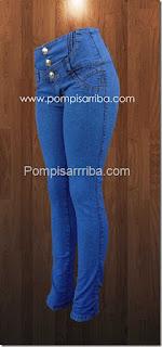 jeans pompis arriba levanta pompis de mayoreo en linea jeans para dama barato