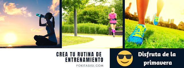 (Imagen) Crea una rutina de entrenamiento al aire libre que puedes realizar por tu propia cuenta o con los amigos, o simplemente sal a pasear y relájate