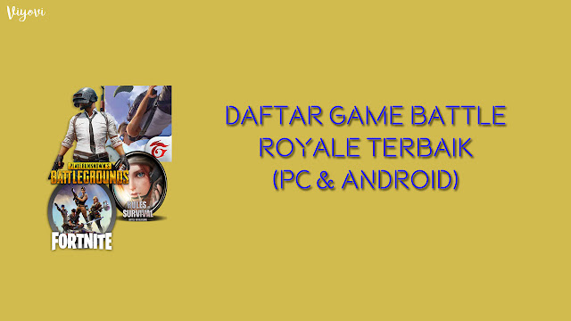 game battle royale pc dan android
