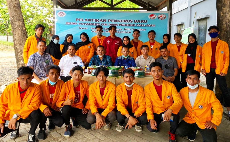 Resmi Dilantik, Pengurus BKMF Petanque FIK UNM Siap Menjalankan Roda Organisasi
