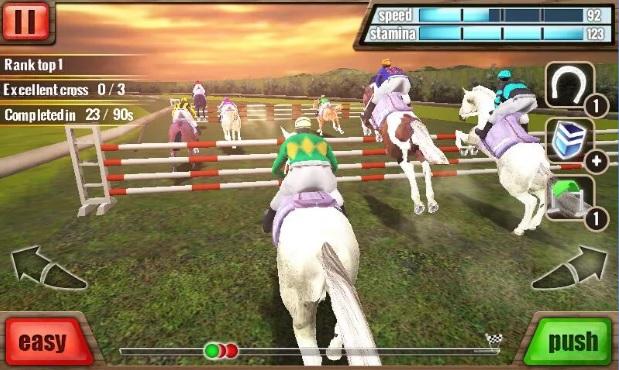 لعبة سباق الخيول