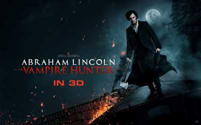 Abraham Lincoln Vampire Hunter 3D Half OU Hindi Dual Audio 720p