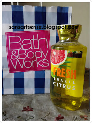 BBW Fresh Brazil Citrus Shower Gel