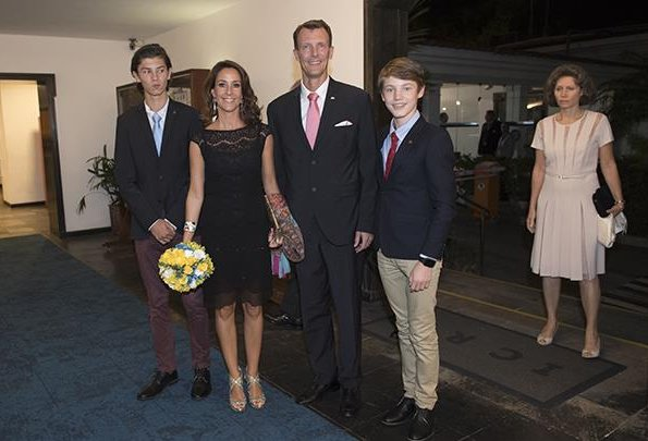 Prince Joachim, Princess Marie, Prince Nikolai and Prince Felix of Denmark attended the concert of Danish National Girls Choir (Danish: DR. Pigekoret)