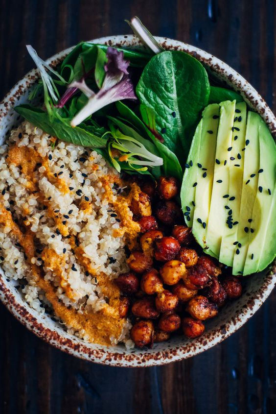 Vegan Buddha Bowl. Need more recipes? Find 25 Super Healthy Vegan Dinner Recipes for Weeknights. dinner ideas vegetarian | healthy vegan dinner recipes | vegan dinner quick #veganforlife #vegandinner #veganfriendly #veganfit