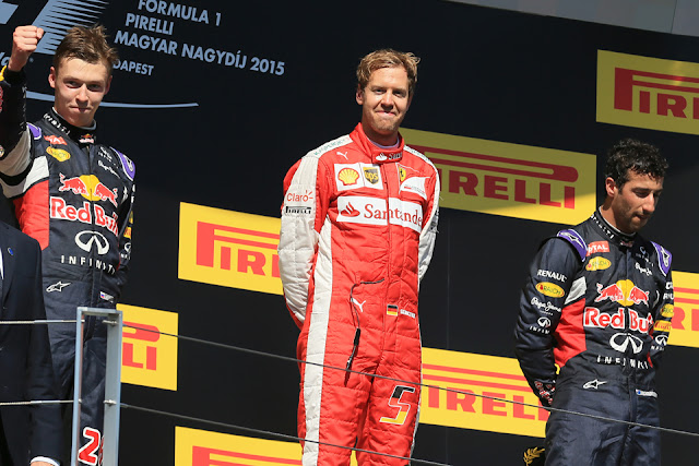 Hasil F1 Formula Hungary (Hungaria) 2016