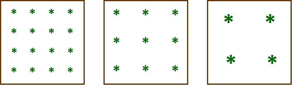 Simply Square Foot Gardening Planting Template For Square