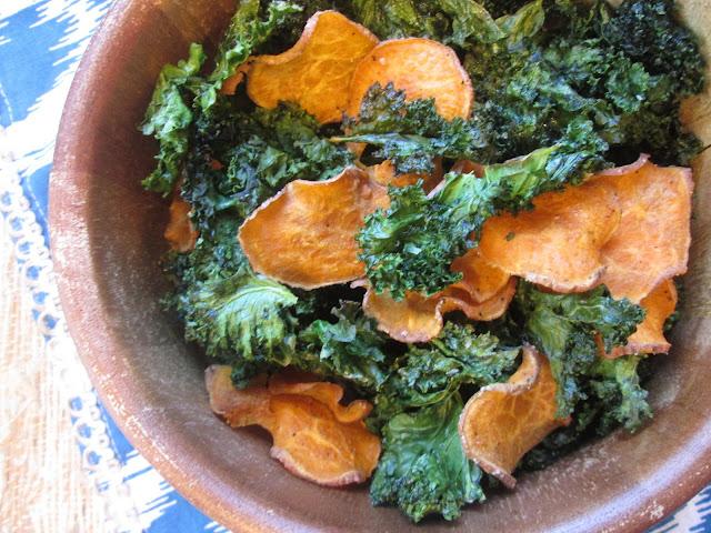 Kale Chips Recipe Oven Giada Stirring the Pot