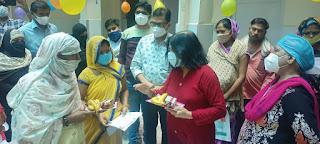 जालौन: प्रधानमंत्री सुरक्षित मातृत्व अभियान दिवस पर हुई गर्भवती की जांचें