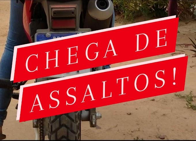 Afogados: homem tem moto e pertences roubados em assalto à mão armada