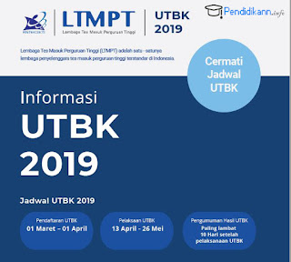 Pendaftaran SBMPTN 2019 melalui UTBK sudah resmi dibuka!