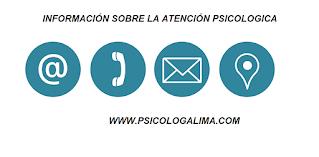 PSICOLOGOS EN LIMA TERAPIAS ONLINE