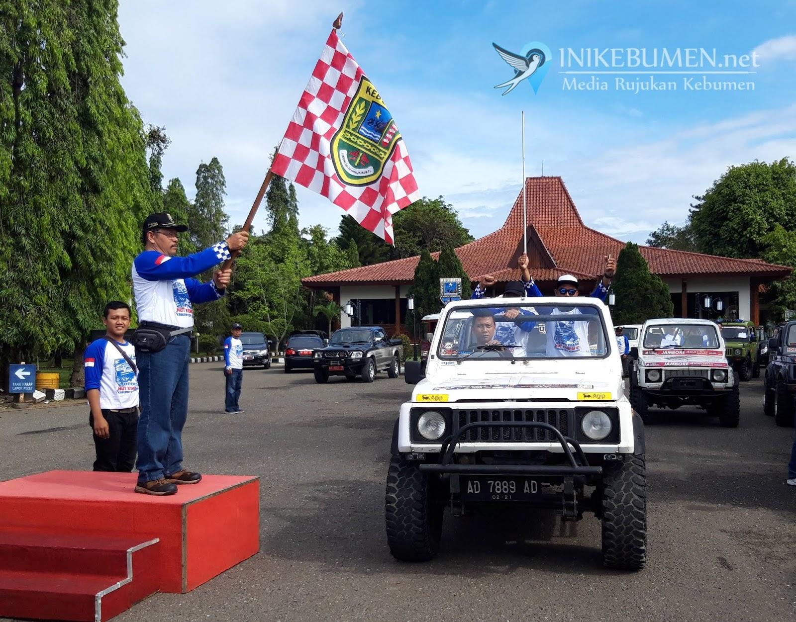 Puluhan Offroader Ramaikan JIP Offroad #47 Korpri Kebumen