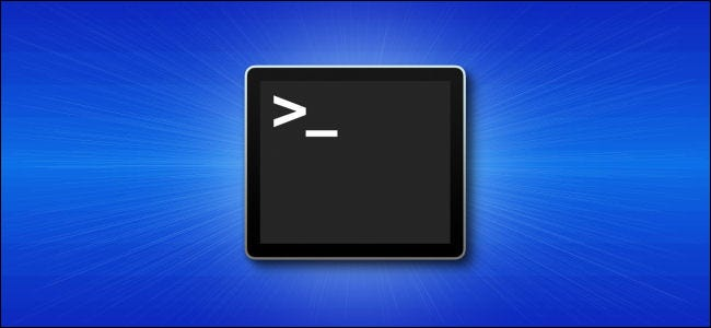 أيقونة تطبيق Mac Terminal