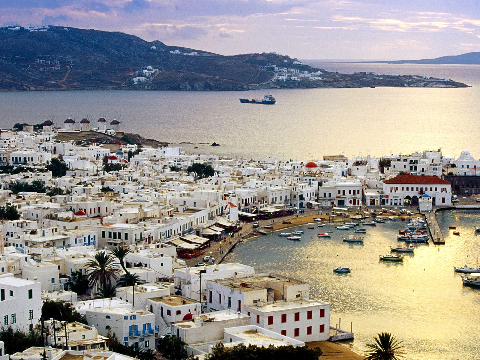 World Visits: Mykonos Island, And Beach Attraction Located ...